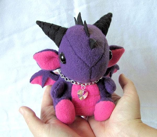 Dragon Plushie 1 by DragonsAndBeasties