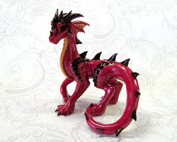 Red Standing Dragon