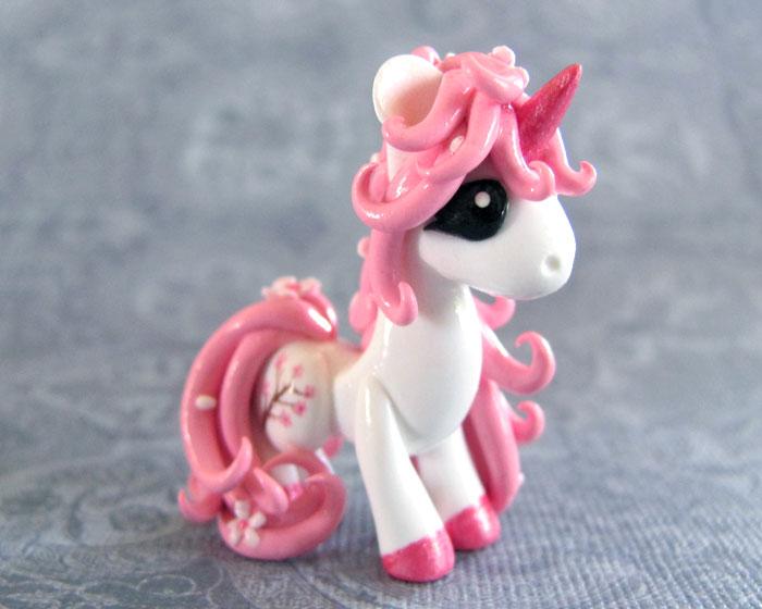 Cherry Blossom Pony by DragonsAndBeasties