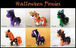 Halloween Ponies