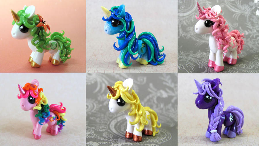 Custom Ponies by DragonsAndBeasties