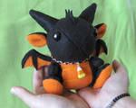 Halloween Dragon Plushie 2