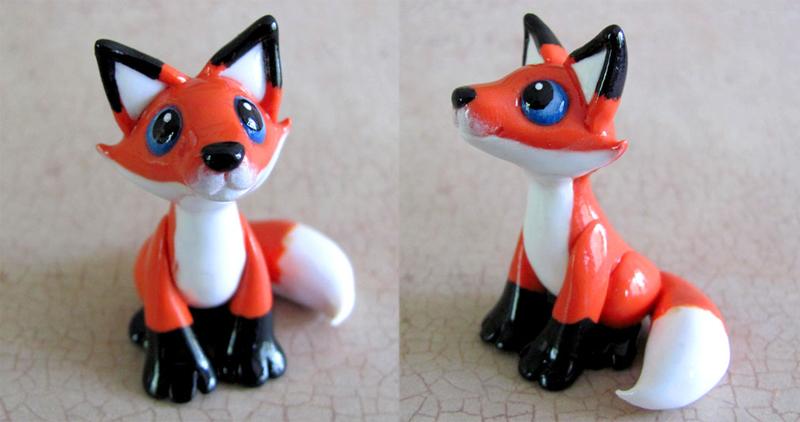 Little Red Fox by DragonsAndBeasties