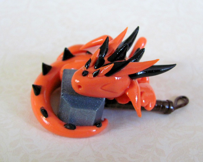 Mjollnir's Tiny Protector by DragonsAndBeasties