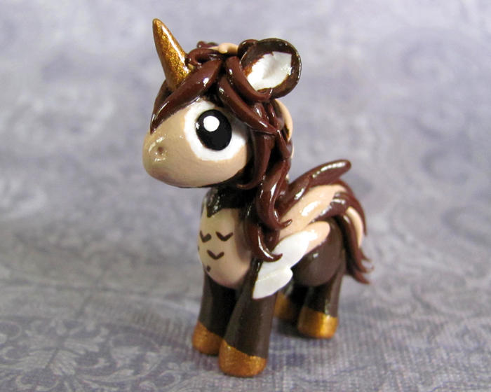 Owl Pony by DragonsAndBeasties