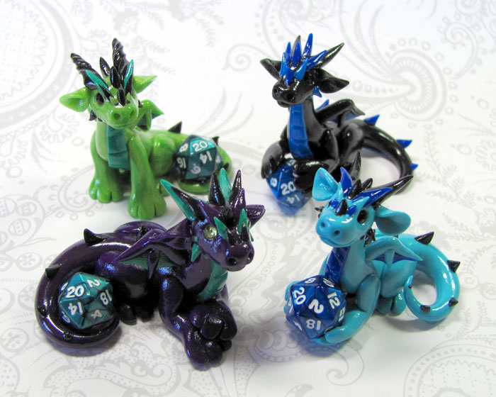 Mini Dice Dragons by DragonsAndBeasties