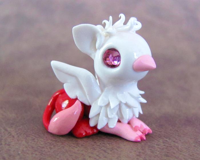 Valentine Gryphon by DragonsAndBeasties