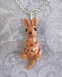 Mama Kangaroo Pendant
