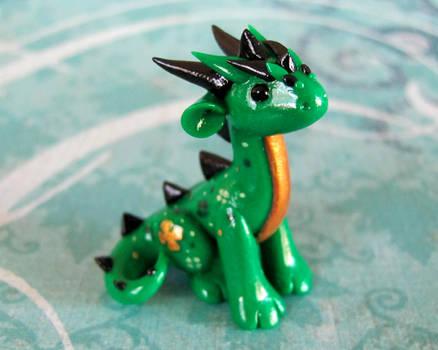 Little Green Luck Dragon