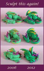 The First Dragon by DragonsAndBeasties