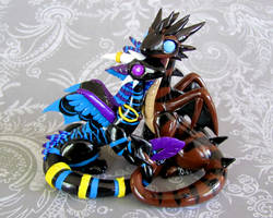 Karingan and Kenthor by DragonsAndBeasties