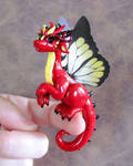 Red Butterfly Dragon