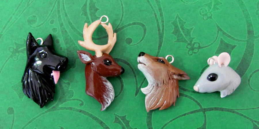 Marauder Charms by DragonsAndBeasties
