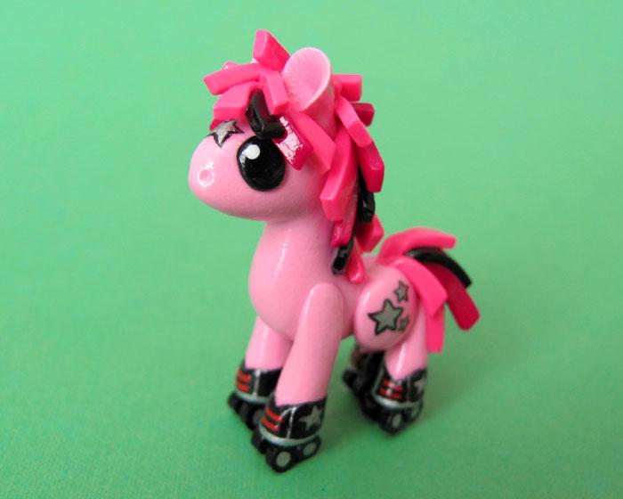 Rollerskating Pony by DragonsAndBeasties
