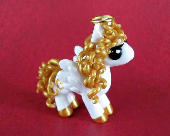 Angel Pony by DragonsAndBeasties
