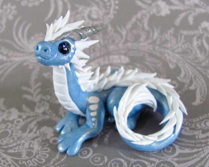 Frost Dragon by DragonsAndBeasties
