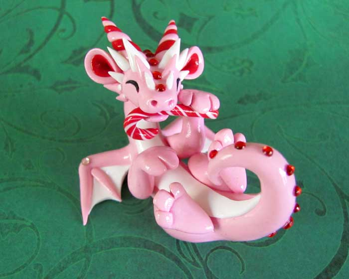 Sweet Mint Dragon by DragonsAndBeasties