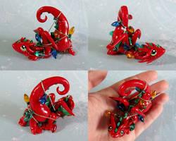 Red Tangled Dragon by DragonsAndBeasties