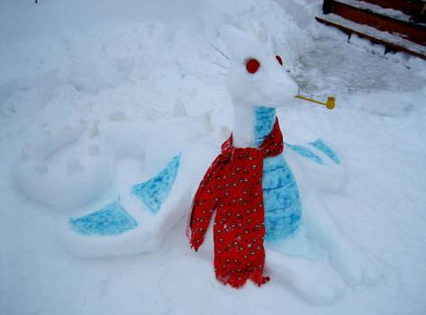 Real Snow Dragon