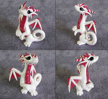 Dusty Rose Dragon by DragonsAndBeasties
