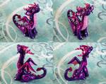 Neon Purple Dragon