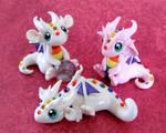 Baby Rainbow Dragons