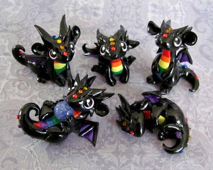 More Baby Rainbow Dragons