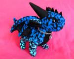 Dragon Plushie - Blue and Aqua