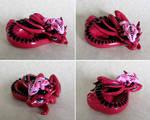Pink Mama and Baby Dragons