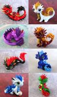 Baby Orientals 2 by DragonsAndBeasties