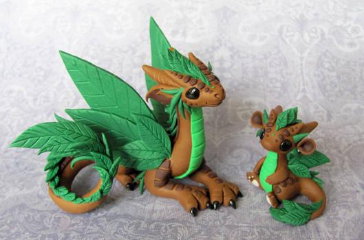 Leaf Dragons