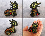Baby Magma Dragon - Magmini