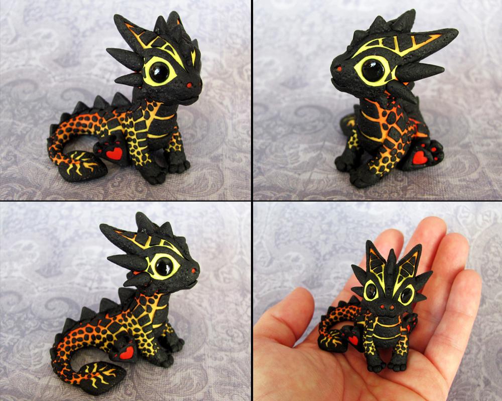 Baby Magma Dragon - Magmini by DragonsAndBeasties