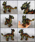 Adult Magma Dragon - Magmax