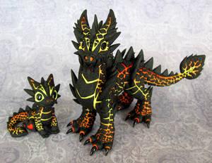 Magma Brothers - Auction by DragonsAndBeasties