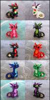 Micro Dice Dragons by DragonsAndBeasties
