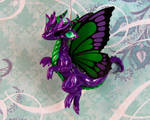 Purple Butterfly Dragon