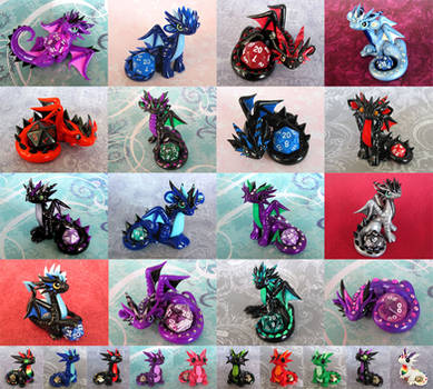 Dice Dragons for Sale