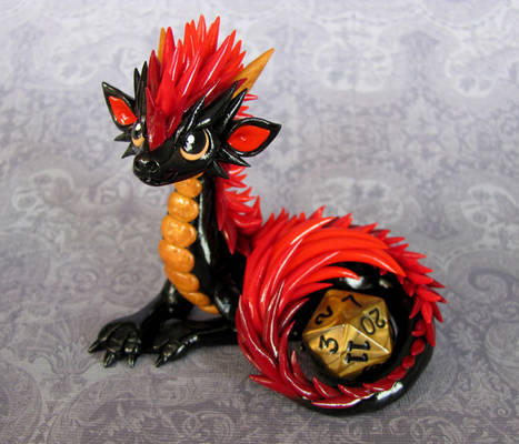 Red Maned Dice Dragon