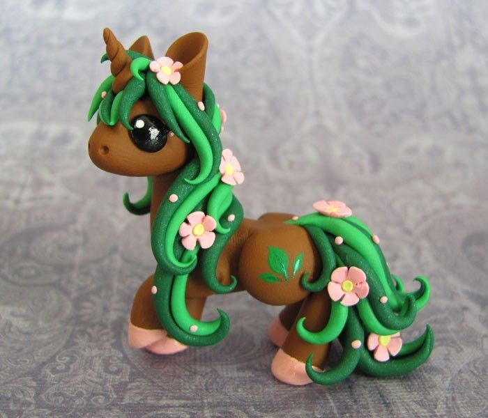 Flower Unicorn by DragonsAndBeasties