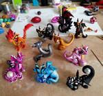 Baby Dragons at Play