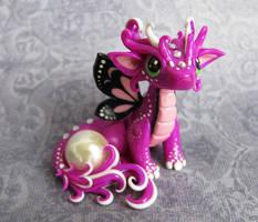Baby Butterfly Dragon by DragonsAndBeasties