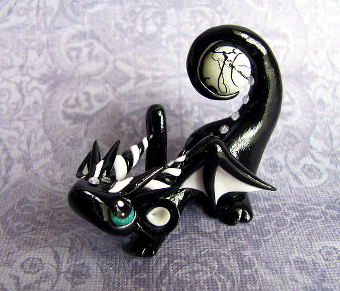 Playful Baby Dragon by DragonsAndBeasties