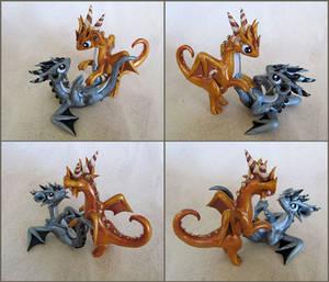 Play Fight by DragonsAndBeasties