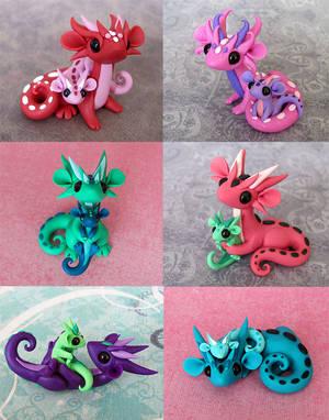 Mama Scrap Dragons by DragonsAndBeasties