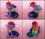 Purple Rainbow Dragon