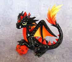 Fire-Tail Dragon by DragonsAndBeasties