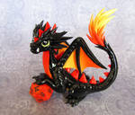 Fire-Tail Dragon by DragonsAndBeasties