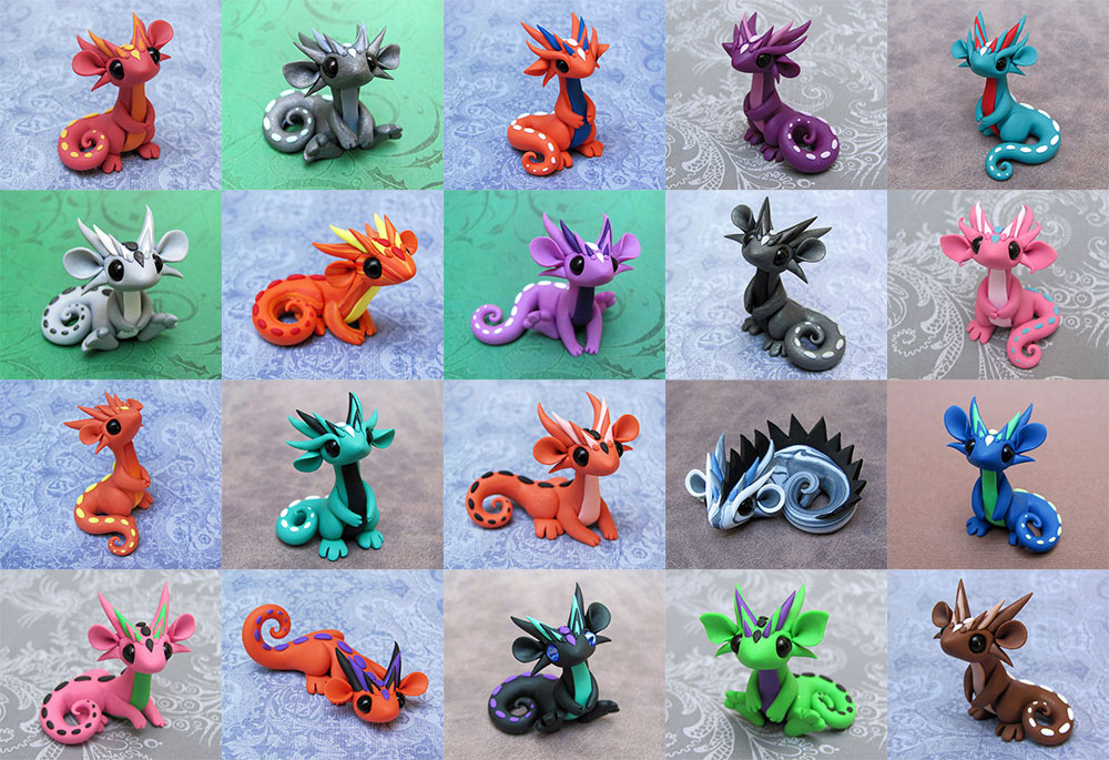 Scrap Dragons June 8th by DragonsAndBeasties