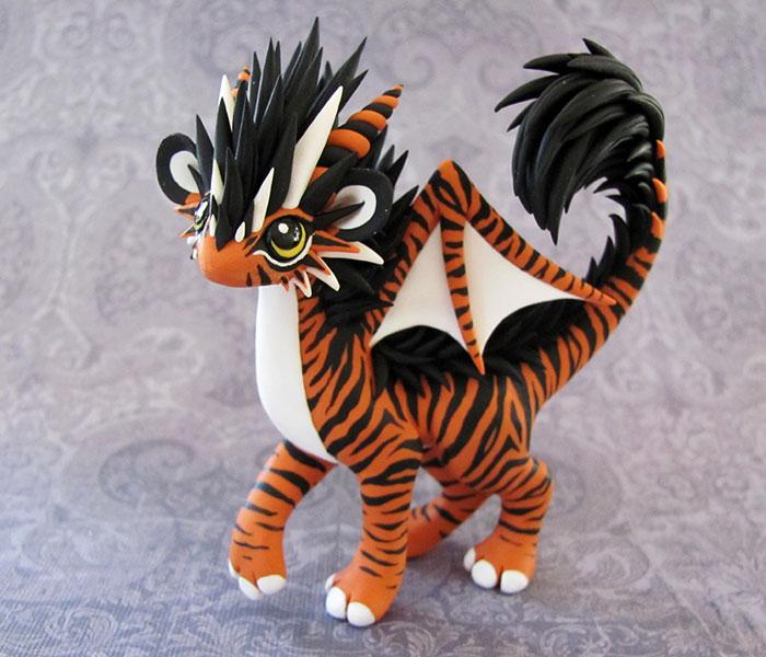 Tiger-dragon by DragonsAndBeasties